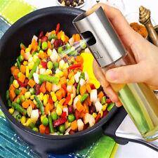 Kitchen Olive Oil Sprayer Dispenser For BBQ/Cooking/Vinegar Glass Bottle +Brush