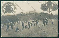 Palermo Piana dei Greci Bersaglieri Foto cartolina QQ0596