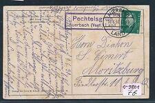 91043) DR > DDR Landpost Ra2 Pechtelsgrün Auerbach (Vogtl.) Land, Kte 1930
