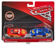 Disney Pixar Cars 3 Diecast Lightning McQueen/Fabulous Lightning McQueen 2-Pack