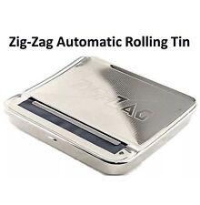 2x Zig Zag Automatic Cigarete Tobacco Smoking Rolling Machine Case Tin Box BNIB