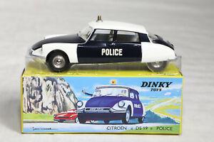 DINKY TOYS ATLAS CITROEN DS 19 POLICE  N° 501  ETAT NEUF