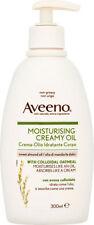 Aveeno Moisturising Creamy Oil with Sweet Almond Oil & Colloidal Oatmeal (300ml)