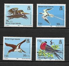 Br. Virgin Islands 1985 BIRDS set of 4  MINT NH