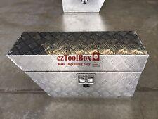 LHS Under Tray/Body Aluminium Toolbox Tool Box Storage Ute Toolboxes 750x250x400