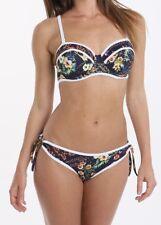 102fb6e1473bb Freya Club Tropicana Strapless Bandeau Bikini Top Midnight 3984 * Swimwear  32 DD