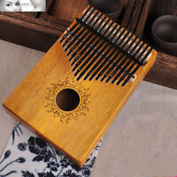 17 Keys Kalimba Thumb Piano High-Quality Solid Acacia Wood Sanza Mbira Likembe