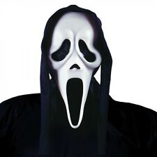 Ghost Face Mask with Shroud Scream Adult Mens Halloween Costume Accessory