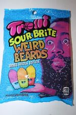 2 x Trolli Sour Brite WEIRD BEARDS 120g bag