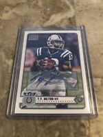 2012 T.Y. HILTON Topps Magic Football Autograph Rookie Card COLTS