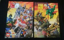 LEGO Castle poster 1993 Dragon Knight, 1995 Royal Knight-Double sided-Japanese