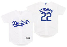 Los Angeles Dodgers Clayton Kershaw #22 MLB Boys Youth Replica Jersey, White