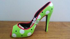 Cypress Home Polka Dot Shoe Wine Bottle Holder