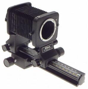 NIKON PB-6 macro Bellows original excellent condition to fit SLR F mount cameras
