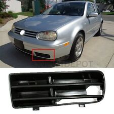 Bumper Front Lower Air Foglight Left Side Grille Vent For 99-05 VW Golf MK4 ND