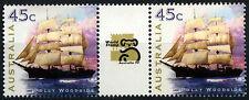 Australia 1999 SG#1846, 45c vela que se Expo estampillada sin montar o nunca montada Canalón par #D51047