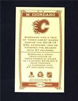 2019-20 UD O-Pee-Chee Caramel Wood Mini #C-6 Mark Giordano - Calgary Flames