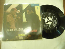 "GERRY MULLIGAN/PAUL DESMOND  -Disco 45 giri EP VERVE Italy 1959"""