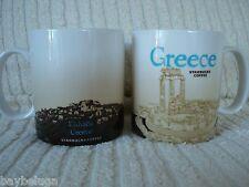 "NEW! Starbucks Global City Mug Country GREECE 2009 (""Made in China"" version) MIC"