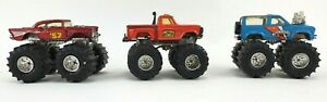 MATCHBOX 1985 Awesome Kong II SUPER CHARGERS  1987 MUD SLINGER and 57 Chevy