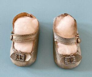 Vintage Madame Alexander Oilcloth Doll Shoes Margaret Princess Elizabeth Maggie