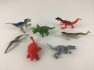 Jurassic World Dinosaur Figures 7pc Lot Spinosaurus Mosasaurus 2015 Hasbro A1