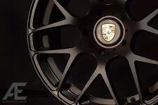 19-inch Porsche Boxster/Cayman Wheels/Rims Ruger Mesh Matte Black 5x130 Lugs