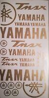 Kit adesivi Yamaha  TMAX 500-530 casco stickers  oro