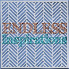 "6""x6"" Endless Inspirations Stencil, Herringbone - Free US Shipping"