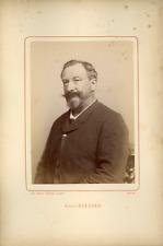 Ant. Meyer, Photog. Colmar, Alexis Kreyder (1849-1912), peintre Vintage albumin