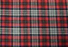 """Cotton Flannel Plaid Tartan Fabric by the Yard #6 - 60""""W"""