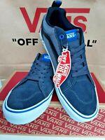 Vans Men's Trainers Filmore Black/Grey Suede & Canvas Sneakers/Shoes Size6.5/7/8