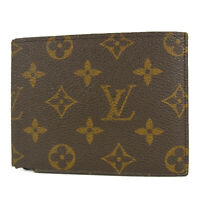 Auth LOUIS VUITTON Vintage Monogram Bifold Wallet Purse France F/S 16672b