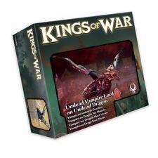 Mantic Games Kings of War BNIB Undead Vampire Lord on Undead Dragon MGKWU204