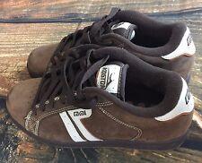 Men's Lakai lakoston Shoes Size 8 Brown Skate Punk EMO Skateboard BMX Bicycle