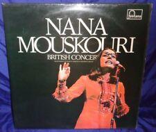 MB484 Nana Mouskouri British Concert 33 RPM LP Record