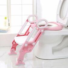 3 in1 Toilettentrainer mit Treppe Kinder Lerntöpfchen Baby Toilettensitz WC Sitz