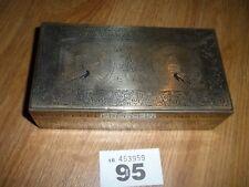 VINTAGE BRASS BOX PEACOCK DESIGN