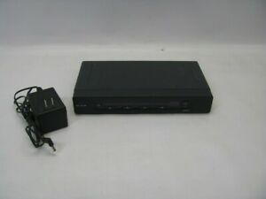 Belkin F1DZ104T Omniview SE Plus  4-Port KVM Switch w/AC Adapter *See Notes*