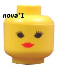 LEGO HEAD Femmina Rosso Rossetto per pupazzetto nuovo