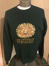 Splendors Of Versailles Green Sweater XL Excellent Rap Bootleg Shirt