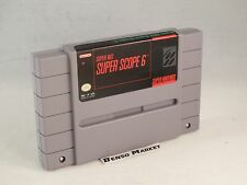 SUPER NES SUPER SCOPE 6 NINTENDO SNES 16 BIT NTSC USA AMERICANO LOOSE ORIGINALE