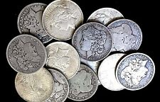 Morgan & Peace 90% Silver Dollars Random Lot of 4 (NO Culls) All Full Dates.