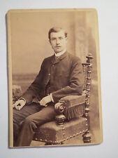 Leipzig - 1889-Carl bûche HAUER en HOMME-PORTRAIT/CDV