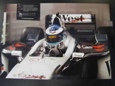 Photo West McLaren Mercedes MP4/15 2000 #1 Mika Hakkinen type 2