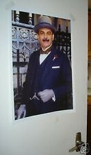 Hercule Poirot David Suchet NEW Door Poster