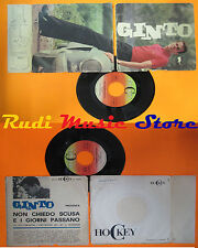 LP 45 7'' GINTO Non chiedo scusa E i giorni passano 1963 italy HOCKEY cd mc dvd