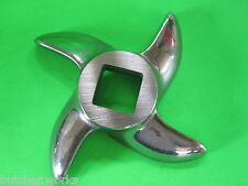 #22 size Kniife Blade Cutters for Cabelas Lem and other Meat Grinders Stainless