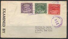 Salvador 1942 Censored Cover To New York