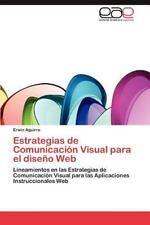 Estrategias de Comunicacion Visual Para El Diseno Web (Paperback or Softback)